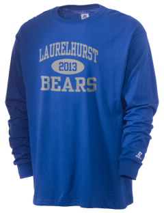 Laurelhurst Elementary School Bears  Russell Men's Long Sleeve T-Shirt