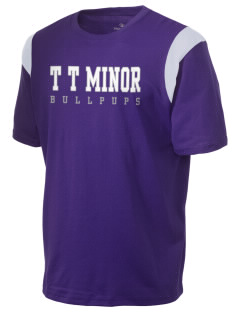 T T Minor Elementary School Bullpups Holloway Men's Rush T-Shirt
