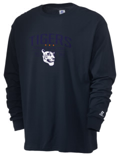 Catherine Blaine School Tigers  Russell Men's Long Sleeve T-Shirt