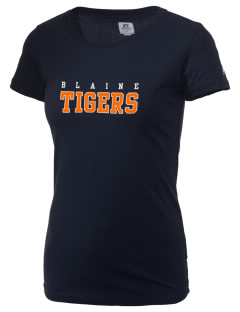 Catherine Blaine School Tigers  Russell Women's Campus T-Shirt