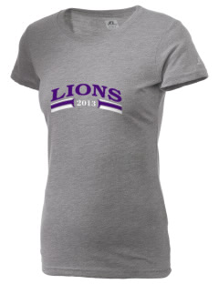 John Stanford International School Lions  Russell Women's Campus T-Shirt