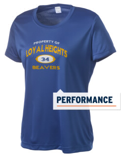 Loyal Heights Elementary School Beavers Women's Competitor Performance T-Shirt