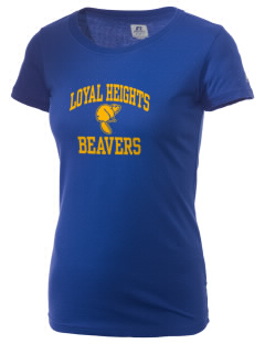 Loyal Heights Elementary School Beavers  Russell Women's Campus T-Shirt