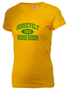 Roosevelt High School Roughriders  Russell Women's Campus T-Shirt