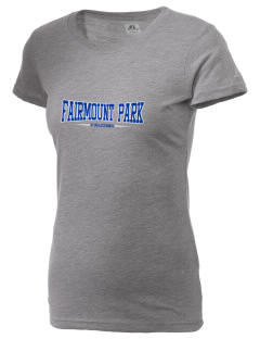 Fairmount Park Elementary School Falcons  Russell Women's Campus T-Shirt