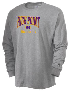 High Point Elementary School Huskies  Russell Men's Long Sleeve T-Shirt