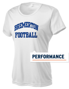 Bremerton Junior High School Bulldogs Women's Competitor Performance T-Shirt