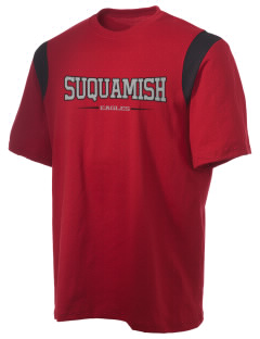 Suquamish Elementary School Eagles Holloway Men's Rush T-Shirt
