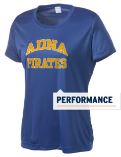Adna Senior High School Pirates Women's Competitor Performance T-Shirt