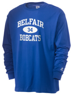 Belfair Elementary School Bobcats  Russell Men's Long Sleeve T-Shirt