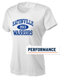 Eatonville Elementary School Warriors Women's Competitor Performance T-Shirt