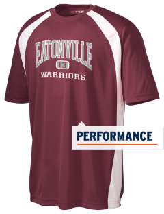 Eatonville Middle School Warriors Men's Dry Zone Colorblock T-Shirt