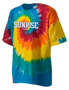 Sunrise Elementary School Super Stars Kid's Tie-Dye T-Shirt