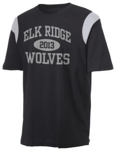Elk Ridge Elementary School Wolves Holloway Men's Rush T-Shirt