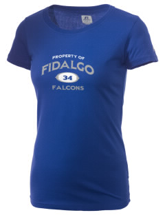 Fidalgo Elementary School Falcons  Russell Women's Campus T-Shirt