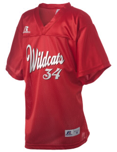 Madison Elementary School Wildcats Russell Kid's Replica Football Jersey
