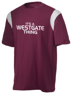 Westgate Elementary School Cougars Holloway Men's Rush T-Shirt