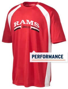 Riverside High School Rams Men's Dry Zone Colorblock T-Shirt
