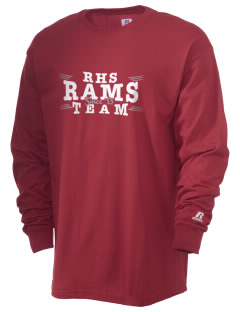 Riverside High School Rams  Russell Men's Long Sleeve T-Shirt