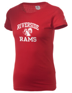 Riverside High School Rams  Russell Women's Campus T-Shirt