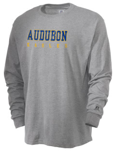 Audubon Elementary School Eagles  Russell Men's Long Sleeve T-Shirt