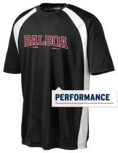 Balboa Elementary School Bulldogs Men's Dry Zone Colorblock T-Shirt