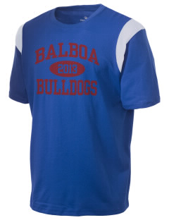 Balboa Elementary School Bulldogs Holloway Men's Rush T-Shirt