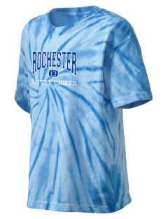 Rochester Primary School Little Chiefs Kid's Tie-Dye T-Shirt