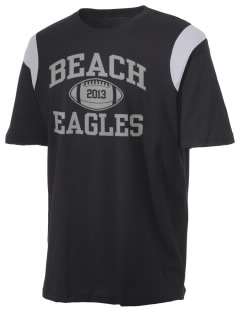 Beach Elementary School Eagles Holloway Men's Rush T-Shirt