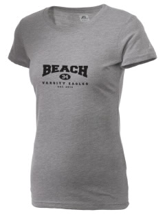 Beach Elementary School Eagles  Russell Women's Campus T-Shirt