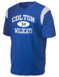 Colton High School Wildcats Holloway Men's Rush T-Shirt