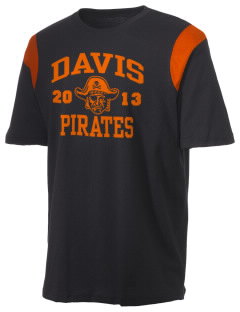 Davis High School Pirates Holloway Men's Rush T-Shirt