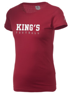 King's Junior High School Knights  Russell Women's Campus T-Shirt
