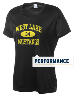 West Lake Junior High School Mustangs Women's Competitor Performance T-Shirt