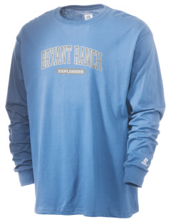 Bryant Ranch Elementary School Explorers  Russell Men's Long Sleeve T-Shirt