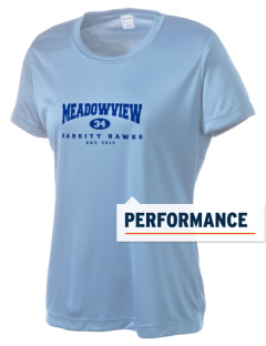 Meadowview Elementary School Hawks Women's Competitor Performance T-Shirt