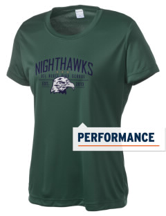 Del Norte High School Nighthawks Women's Competitor Performance T-Shirt