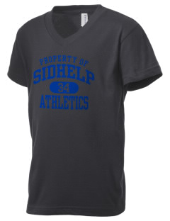 SIDHelp Athletics Kid's V-Neck Jersey T-Shirt