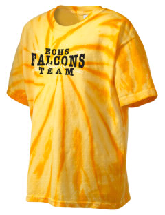Erie Central High School Falcons Kid's Tie-Dye T-Shirt