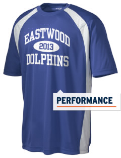 Eastwood Elementary School Dolphins Men's Dry Zone Colorblock T-Shirt
