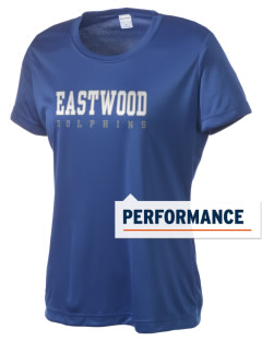 Eastwood Elementary School Dolphins Women's Competitor Performance T-Shirt