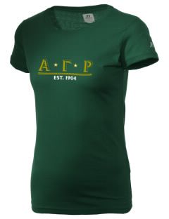 Alpha Gamma Rho  Russell Women's Campus T-Shirt