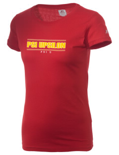 Psi Upsilon  Russell Women's Campus T-Shirt