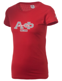 Alpha Phi  Russell Women's Campus T-Shirt
