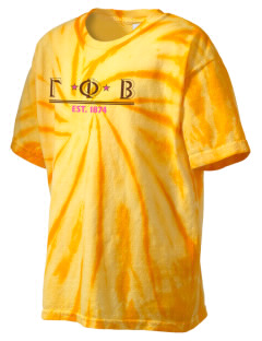 Gamma Phi Beta Kid's Tie-Dye T-Shirt