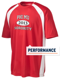 Phi Mu Men's Dry Zone Colorblock T-Shirt