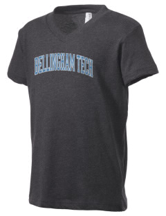 Bellingham Technical College College Kid's V-Neck Jersey T-Shirt