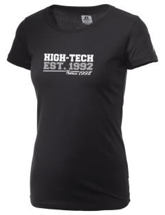 High-Tech Institute est. 1992  Russell Women's Campus T-Shirt