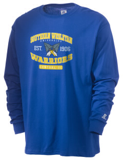 Southern Wesleyan University Warriors  Russell Men's Long Sleeve T-Shirt