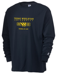 Texas Wesleyan University Rams  Russell Men's Long Sleeve T-Shirt